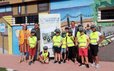 Benidorm 25º Aniversario del Parque Infantil de Tráfico, en la Semana Europea de la Movilidad