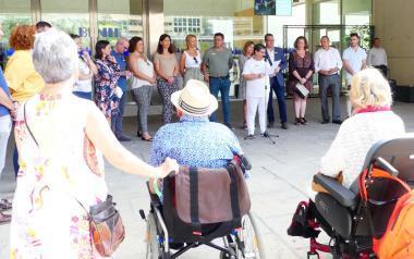 Benidorm conmemora el Día Mundial del Alzheimer bajo el lema#Evolución