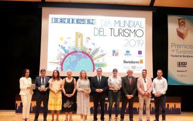 Benidorm reconoce con los 'Premios Turismo' 2019 a Fitur, Segittur, Microservices y Alejandro Guijarro