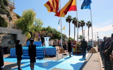 Ana Pellicer preside en Benidorm los actos del Día de la Policía