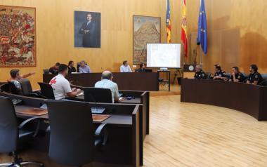 Benidorm cierra el dispositivo sanitario y de seguridad del IberiaFestival