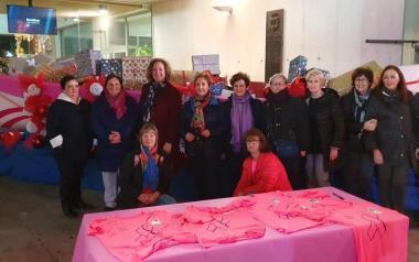 El Desafío Solidario de Anémona 'amarra' el falucho a las puertas del Ayuntamiento