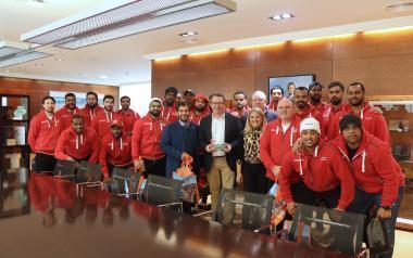 Toni Pérez rep la selecció d'handbol d'Emirats Àrabs Units