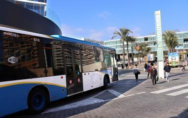 El Ministerio concede una subvención de más de 260.000 euros a Benidorm al transporte público colectivo