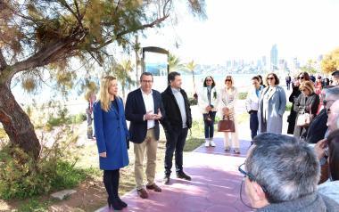 El 'Benidorm 2020' de Jaume Fuster se puede disfrutar ya en el nuevo Espai d'Art 'Ponent'