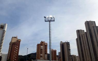 Deportes renueva la iluminación de los campos de fútbol 'Antonio López'