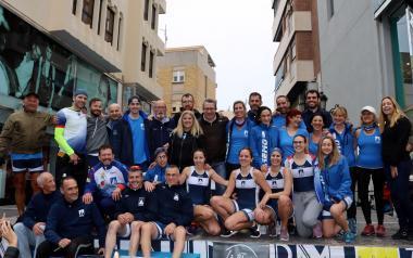 El CN Benidorm bate dos récords del mundo de remo 24 horas