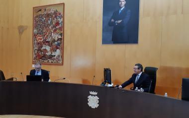El alcalde destaca en el Día de Benidorm la capacidad de la ciudad de salir adelante en la adversidad