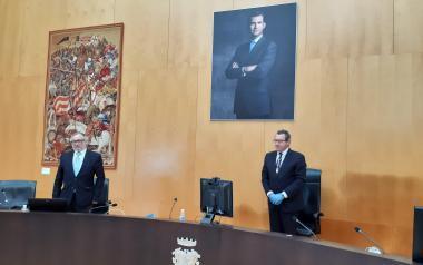 Toni Pérez proclama que Benidorm es Europa y necesita a Europa