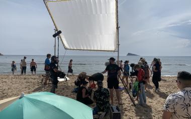 Benidorm reactiva els rodatges audiovisuals