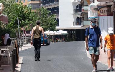 El carrer Sant Pere s'obri als vianants
