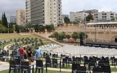 Todo listo para el primer concierto del 'Benidorm Summer Nights'