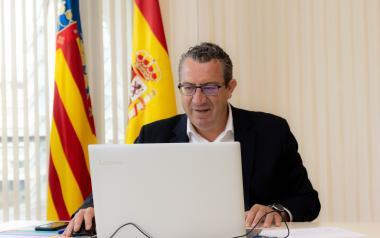 Benidorm activa el jueves la plataforma web para reservar parcela en la playa de Levante