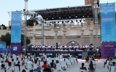 La SM l'Illa cierra los 'Concerts d'Estiu' de las tres entidades musicales de Benidorm
