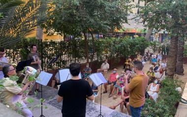 El Quinteto de Metales de la Unión Musical cierra el ciclo 'Concerts a l'Hort de Colon'