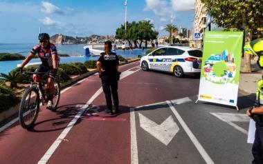 Con el 'Día sin coches' Benidorm despide la Semana Europea de la Movilidad