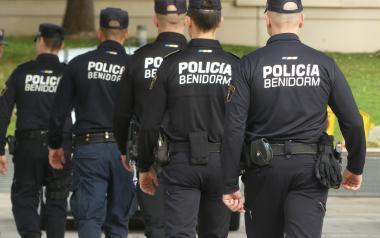 Benidorm despliega un dispositivo policial especial coincidiendo con las fechas en que se celebrarían las Festes Majors Patronals