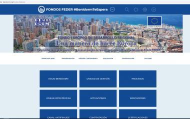 """González de Zárate responde a Ciudadanos: """"la web Edusi del Ayuntamiento de Benidorm está plenamente operativa"""""""