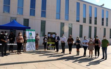 Benidorm Local Police joins 'Escudos Solidarios' campaign against childhood cancer...