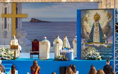 Benidorm venera a la Mare de Déu del Sofratge con una misa en l'Aigüera