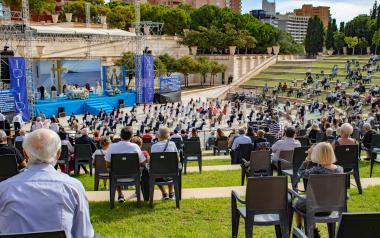 L'alcalde de Benidorm agraïx la conducta de la ciutat en les Festes Majors Patronals 2020, sense actes