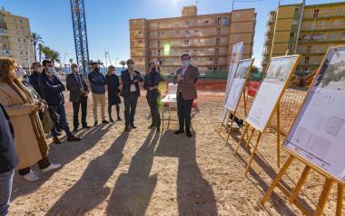 Arranquen les obres del nou aparcament públic de set altures que donarà servici a la zona de Ponent