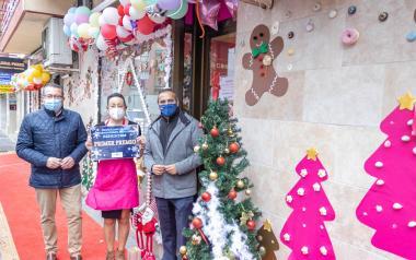 A Cookie Shop, Tisores Estilistes i Globos a la carta aconseguixen els tres premis del XXVII Concurs d'Aparadorisme Nadalenc