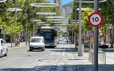 Ciudadanos llevará a pleno subir de 10 a 20 km/h el límite máximo de velocidad fijado en vías de Benidorm
