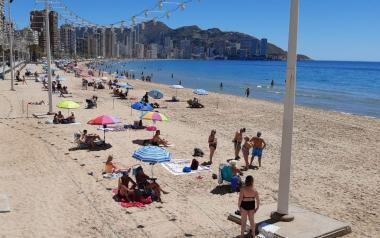 Benidorm llevará al pleno de mayo la próxima planificación de las playas