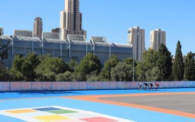 El Ayuntamiento adquirirá el suelo junto al Palau d'Esports para integrar el patinódromo en el complejo deportivo