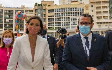 Reyes Maroto y Toni Pérez.