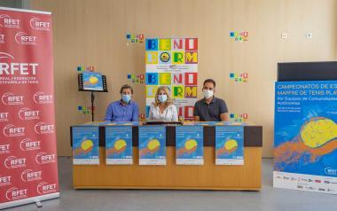Benidorm, seu del campionat d'Espanya de Tenis Platja per comunitats autònomes