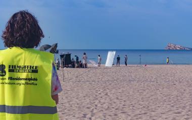 Las grandes marcas también eligen Benidorm para los rodajes de sus spots de verano
