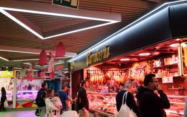 Mercado municipal de Benidorm.