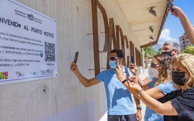 Ponte en forma a través del teléfono móvil con el Ayuntamiento de Benidorm