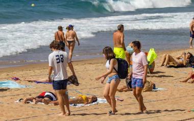 Benidorm incorpora este jueves a sus playas a 58 informadores