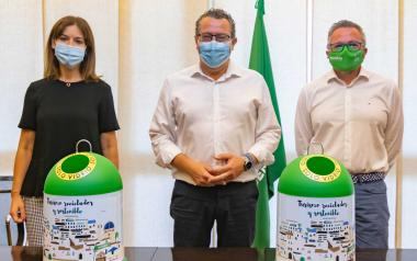 Benidorm se suma a la campaña estival de Ecovidrio y aspira a revalidar su Bandera Verde como ciudad con mayor reciclaje