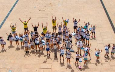 Jóvenes y niños, concejales por un día en Benidorm