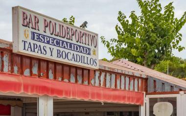 Los tres bares de la Ciudad Deportiva reabren este fin de semana