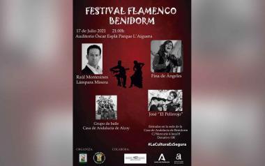 El auditorio Óscar Esplá acoge el sábado un festival de flamenco organizado por FECUAS