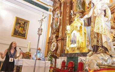 Homenaje a la Virgen del Carmen en Benidorm