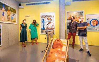 'El Turista Accidental', un homenaje a los turistas de Benidorm.