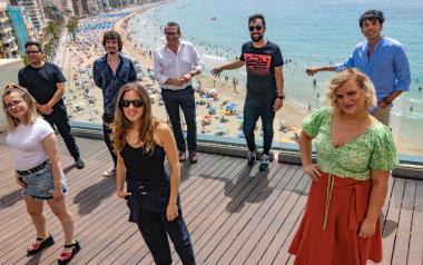 Benidorm acoge esta noche la premier de El Cover, en la Playa del Mal Pas