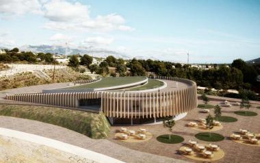 Benidorm presenta el proyecto del albergue juvenil y centro de interpretación de la Séquia Mare
