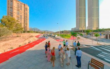 Benidorm gana un nuevo vial que conecta Vía Parque con el Paseo de Poniente