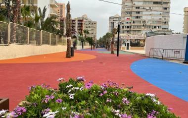 El último tramo de la calle Mallorca se abre al tránsito peatonal a lo largo de la tarde de hoy jueves