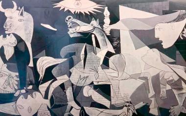 Más de 13.000 visitantes acompañan a Picasso en su viaje por el Guernica