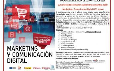 Curso de Marketing y Comunicación Digital