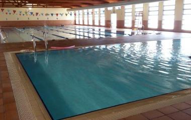 Por mantenimiento, la piscina del Palau d'Esports cierra hasta final de mes