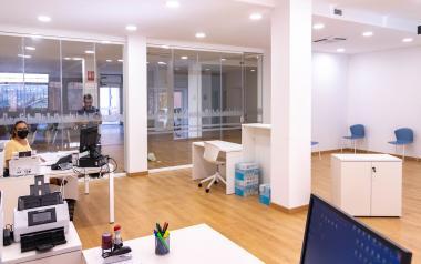 Abierta al público la nueva extensión administrativa de la calle Maravall